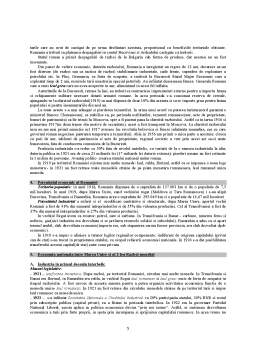Curs - Economia Nationala a Romaniei