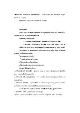 Curs - Drept Administrativ - Sinteza