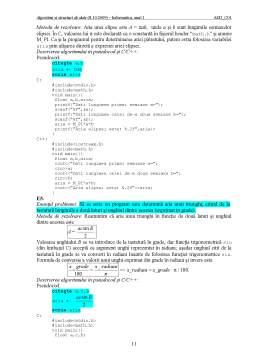 Curs - Algoritmi și Structuri de Date