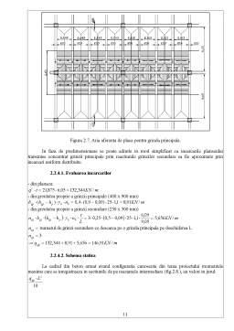 Proiect - Intocmirea Proiectului Structurii de Rezistenta pentru o Cladire Industriala cu Doua Niveluri, Parter si Etaj