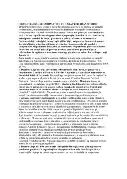 Notiță - Drept Constituțional