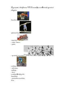 Referat - Istoria Jocurilor Olimpice. Istorie și Contemporaneitate