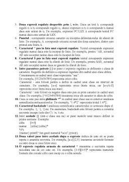 Curs - LEX - Lexical Analyzer