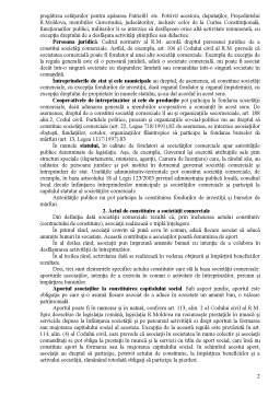 Curs - Constituirea și Funcționarea Societăților Comerciale