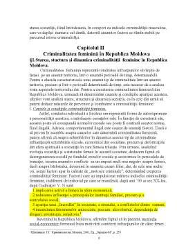 Proiect - Criminalitatea Feminină în Republica Moldova