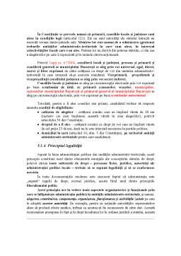 Curs - Administrația Publică Județeană și Locală