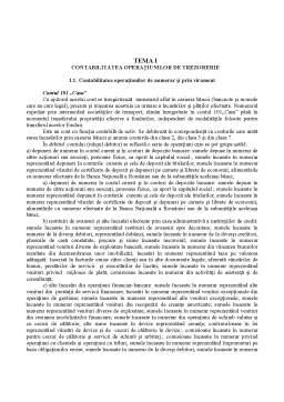 Curs - Tematica Licenta - Contabilitatea Institutiilor de Credit