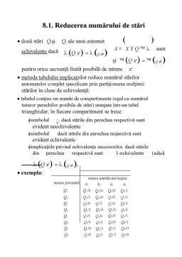 Curs - Probabilitati si Statistica in Inginerie