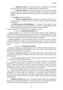Curs - Clauza de Arbitraj si Compromisul