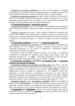 Curs - Drept Civil 4 - Teoria Generală a Obligațiilor