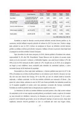 Proiect - Comert Exterior si Integrarea Romaniei in Zona Euro