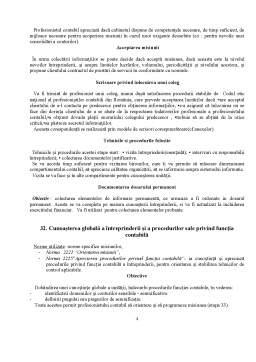 Referat - Misiunea de Examinare a Contabilitatii, Intocmirea si Prezentarea Situatiilor Financiare