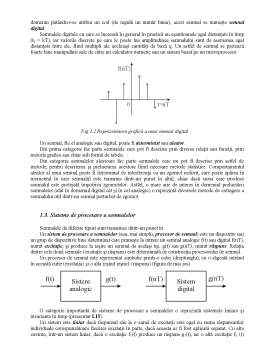 Curs - Prelucrarea Semnalelor - Curs 1