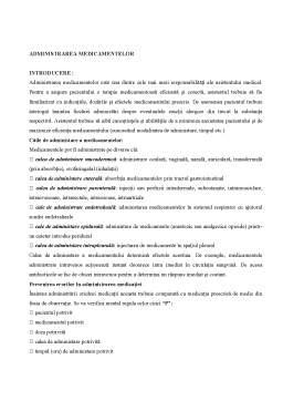 Curs - Drept Roman - Administrarea Medicamentelor