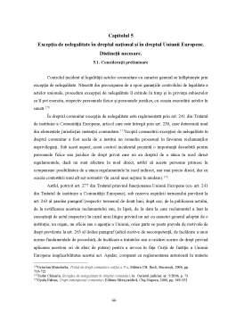 Licență - Drepturile Social-Economice ale Functionarului Public - Exceptia de Nelegalitate
