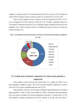 Proiect - Studiu Comparativ pe Piata Asigurarilor - ING si Grawe