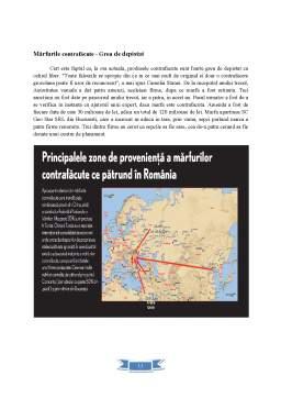 Proiect - Marfurile Contrafacute