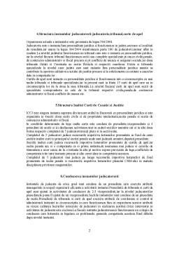 Notiță - Subiecte Organizarea Magistraturii