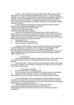 Curs - Functionarea Societatii Comerciale. Reguli Comune