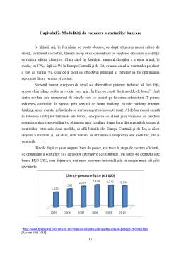 Proiect - Managementul Costurilor Bancare