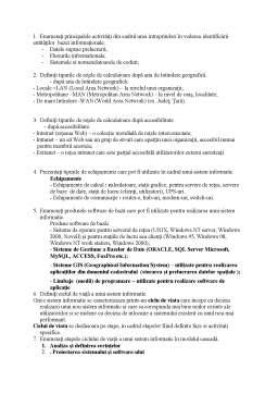 Notiță - Examen PSI