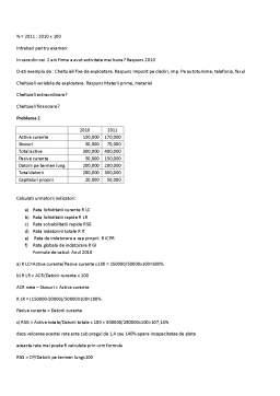 Curs - Analiza Financiara