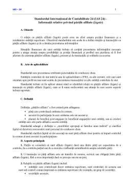 Curs - Standardul Internațional de Contabilitate 24