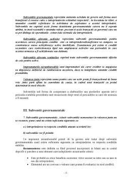 Referat - Contabilitatea Subventiior Guvernamentale