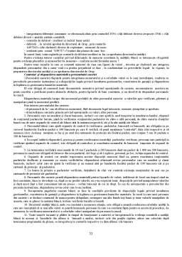 Proiect - Organizarea Activitatii de Decontare si Evidenta Bancara