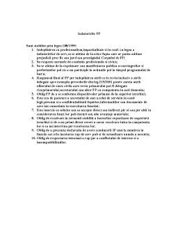 Curs - Deontologie - Functionari Publici