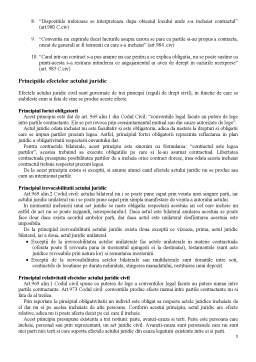 Referat - Efectele Actului Juridic Civil