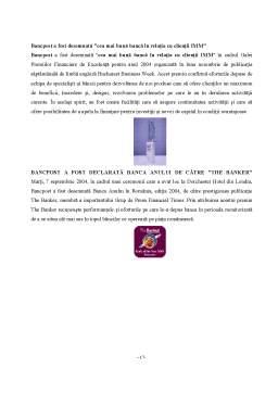 Licență - Operatiuni Bancare cu Clientela cu Exemplificare la Bancpost
