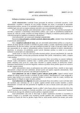 Curs - Actele Administrative