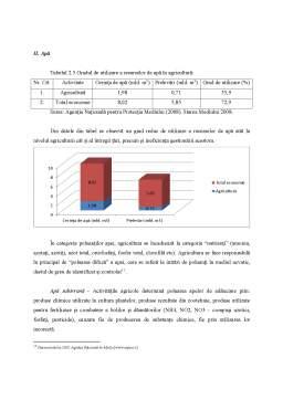 Licență - Analiza Eficienței Economice a Cheltuielilor pentru Protecția Mediului în Agricultură