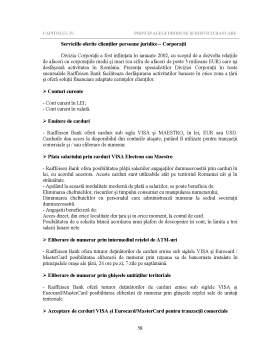 Proiect - Concepte Generale de Management Bancar