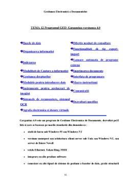 Proiect - Gestiunea Electronică a Documentelor