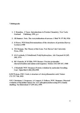 Proiect - Enzime Utilizate in Biosinteza Proteinelor