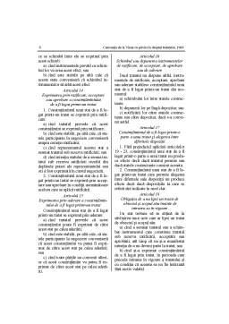 Curs - Conventia de la Viena cu privire la Dreptul Tratatelor din 1969