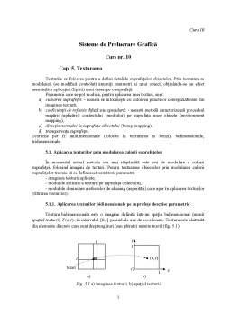 Curs - Sisteme de Prelucrare Grafică