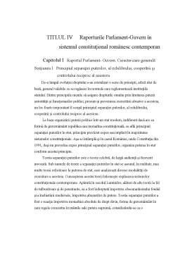 Curs - Drept Constituțional