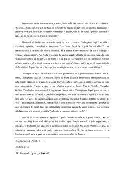 Referat - Istoria Dreptului Romanesc