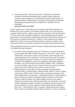 Proiect - Fundamentele Biologice ale Functionarii Psihice - Genomul Uman