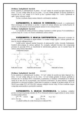 Laborator - Analiza Calitativa a Glucidelor si Proteinelor