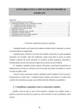 Curs - Contabilitatea Capitalurilor Proprii și Asimilate