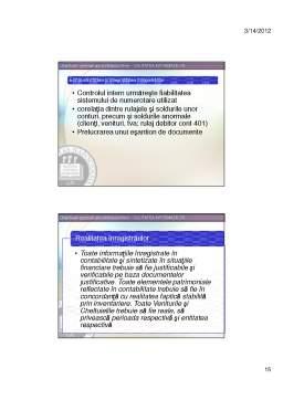 Curs - Control și Audit Financiar
