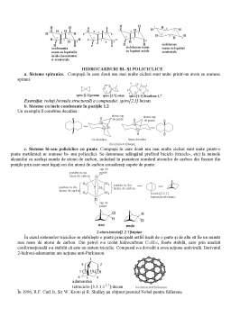 Curs - Cicloalcani, Alchine și Diene