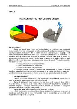 Curs - Managementul Riscului si Guvernanta Corporatista