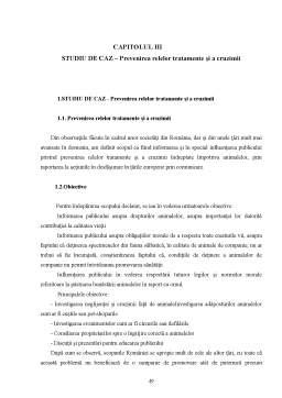 Licență - Protecția Juridică a Animalelor Domestice