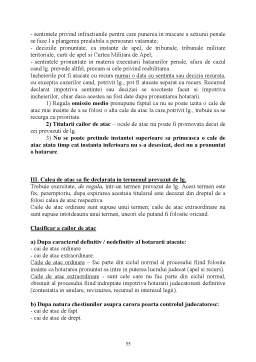 Curs - Procedura Penala II