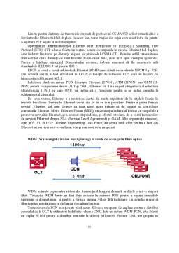 Proiect - Analiza Retelelor Optice de Acces Fso Pon Epon